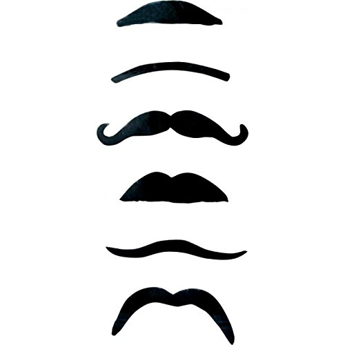 Moustaches Assorties (x6)