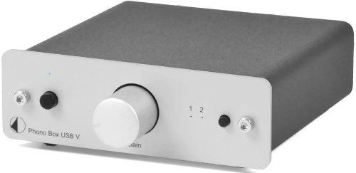 Pro-Ject Phono Box USB Vorverstärker Silber