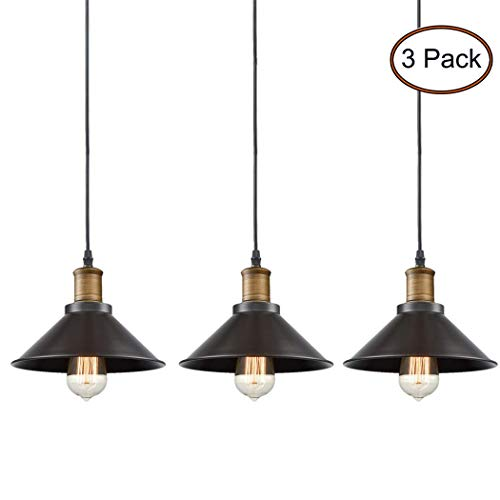 CLAXY Ecopower Industrial Edison Mini Oil Rubbed Bronze...