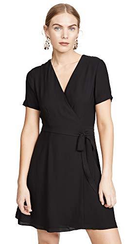 Diane von Furstenberg Women's Savilla Dress, Black, 8