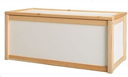 Your s Choice NEW WOODEN TOY BOX STORAGE UNIT CHILDRENS KIDS CHEST BOXES BENCH WHITE CHEAP