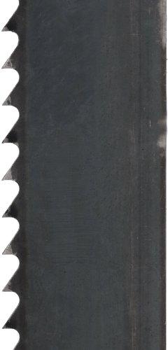 Starrett Duratec SFB Band Saw Blade, Carbon Steel, Regular Tooth, Raker Set, Neutral Rake, 64.5' Length, 1/2' Width, 0.025' Thick, 10 TPI