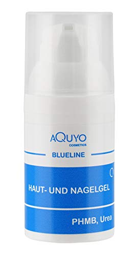 Blueline Nagelgel gegen Nagelpilz & Fußpilz, Gel für entzündete Haut oder Nägel, Hautgel zur Behandlung von Hautausschlag & Hautunreinheiten, Nagelpflege für Fingernägel und Fußnägel (30ml)