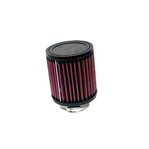 K/&N RB-0510 Voitures Moto Filtre Universel Cylindrique Dia 89 mm Lavable et R/éutilisable