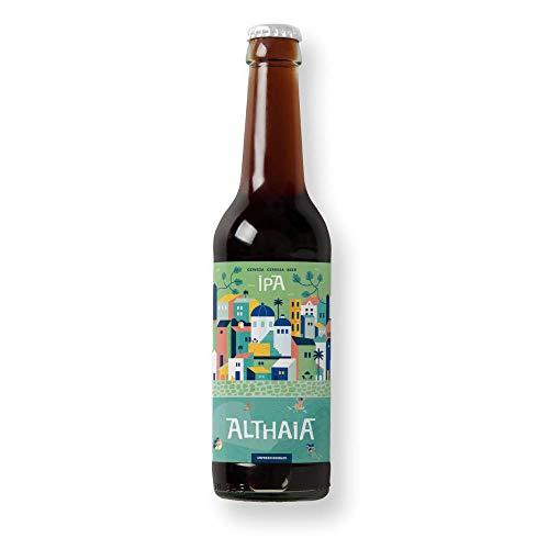 Solo IPA- Cervezas Althaia - Pack 24 unidades - Cerveza artesana - Premiadas internacionalmente. Regalos especiales. Botellín 33cl. Craft Beer