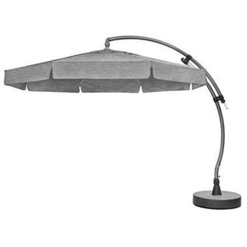 Sun Garden Easy-Sun Ampelschirm Aluminium, anthrazit/grau, 350 x 350 x 295 cm, 102183955