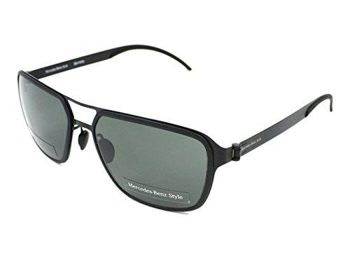 Mercedes-Benz Sonnenbrille M5031 Gafas de Sol, Negro (Schwarz), 58 para Hombre