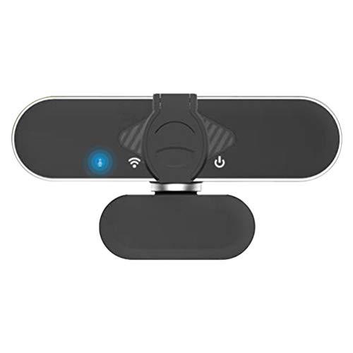 Ububiko Webcam mit mikrofon, 1080P Full HD mit Webcam Abdeckung, für Desktop & Notebook, Web cam ideal für Streaming, Konferenzen, Live Übertragungen und Videoanruf