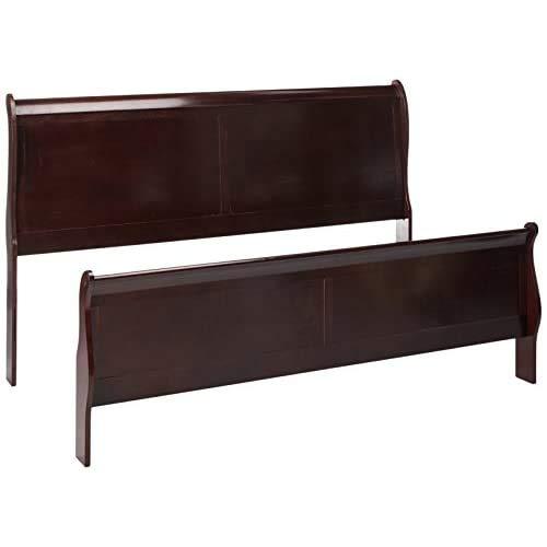 Ashley Furniture Signature Design - Alisdair Queen Sleigh Headboard/Footboard - Component Piece - Dark Brown -  B376-81