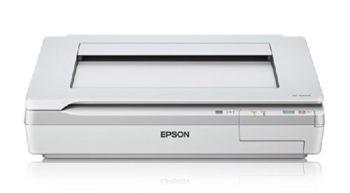 "Epson DS-50000 Large-Format Document Scanner: 11.7"" x 17"" flatbed, TWAIN & ISIS Drivers, 3-Year Warranty with Next Business Day Replacement"