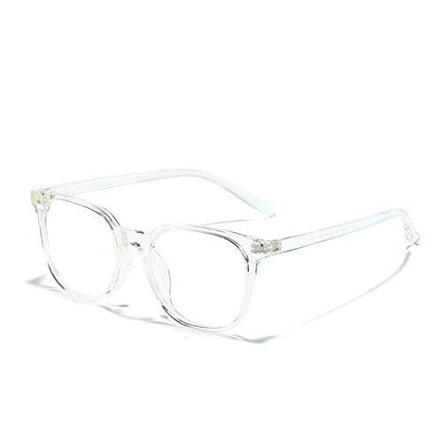 HUITAILANG Gafas Bloqueo Luz Azul,Gafas Transparentes con Filtro De Computadora,2 Unidades,Unisex,Disminución del Cansancio Ocular,Gafas Ópticas Sin Receta,Transparentes