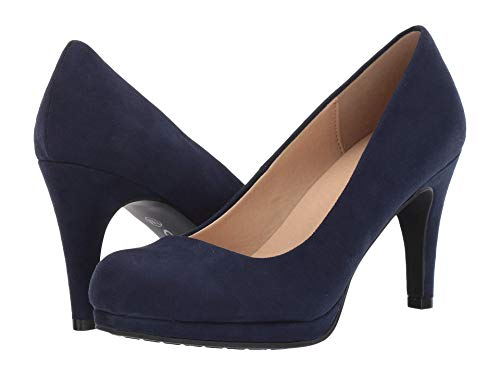 CL by Laundry Nilah Navy Suede 8
