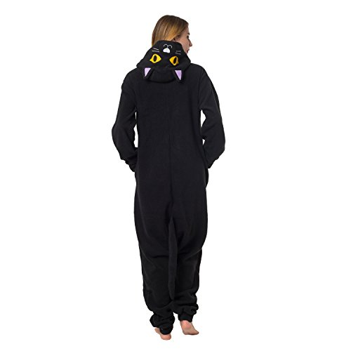 Katara 1744 - Grenouillère Combinaison pour Adultes Tenue de Nuit Pyjama Kigurumi - Taille S...