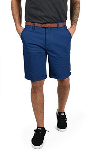 !Solid Montijo Chino Shorts Bermuda Kurze Hose Mit Gürtel Aus Stretch-Material Regular Fit, Größe:M, Farbe:Limoges (1839)