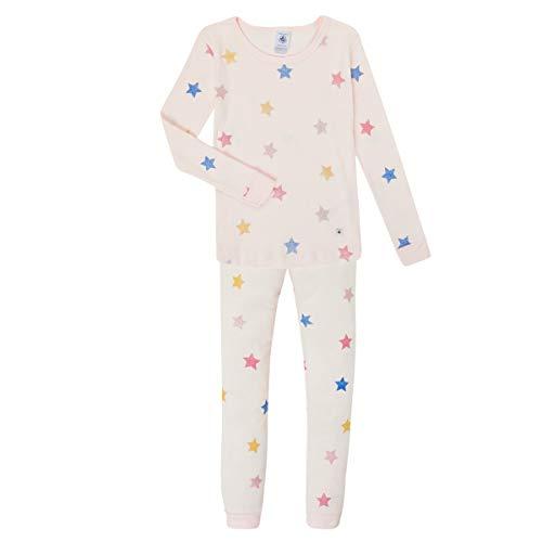Petit Bateau 5756901 Snugfit Schlafanzug mit Sternen, für Mädchen Gr. 3 Jahre,...