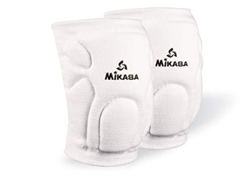 Mikasa 830SR Competition Antimicrobial Kneepad, White