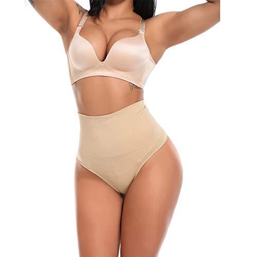 3°Amy Formende Bodys Abnehmen Taille Trainer Kolben-Heber-Hosen-Frauen Brautkleid Nahtlose Ziehen Unterwäsche Body Shaper Bauch-Steuer Höschen Briefs #a (Color : Natural, Size : XXXL)