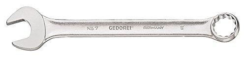 GEDORE Ringmaulschlüssel 6-kant 5,5 mm, Hochwertiger Vanadium-Stahl, Blendfreie Optik, Nach DIN 3110, Silber