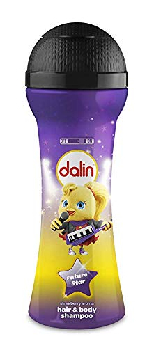 Dalin Microphone Toy Bottle - Hair and Body Wash, Strawberry - 300ml
