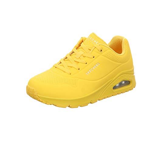 Skechers Zapatillas para Mujer 73690-YEL_36, Amarillas, EU