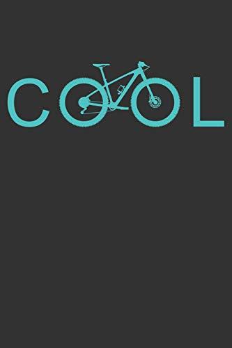 Cool: Mountainbike MTB Notizbuch Zeichenbuch A5 | Geschenk für Mountainbiker Radsportler Fahrrad Fans Väter Ehemänner Kinder Jugendliche Frauen Männer ... Vatertag Weihnachten | 120 linierte Seiten