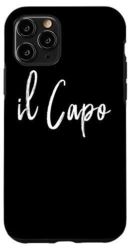 iPhone 11 Pro il Capo Italian The Boss Case
