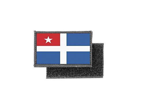 Aufnäher patch aufbügler gedruckt flagge fahne kreta