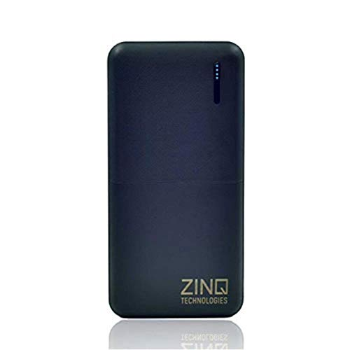Zinq Technologies Z20KP 20000mAH Lithium Polymer Power Bank with PD and QC 3.0 Technology (Black)