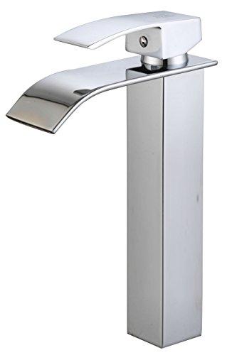 DP Grifería - Grifo monomando de lavabo alto efecto cascada ,modelo Eneldo