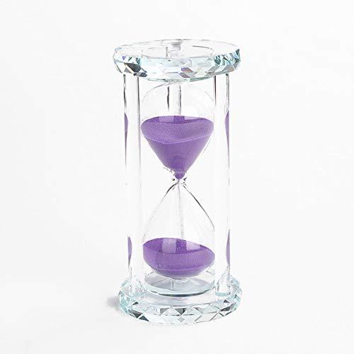Lonovel 60 Minutes Hourglass Timer,Crystal Sand Timer Diamond Carving...