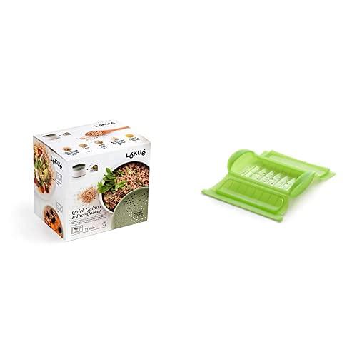 Lékué Recipiente Para Cocinar Quinoa, Arroces Y Cereales, 1 Litro + -...