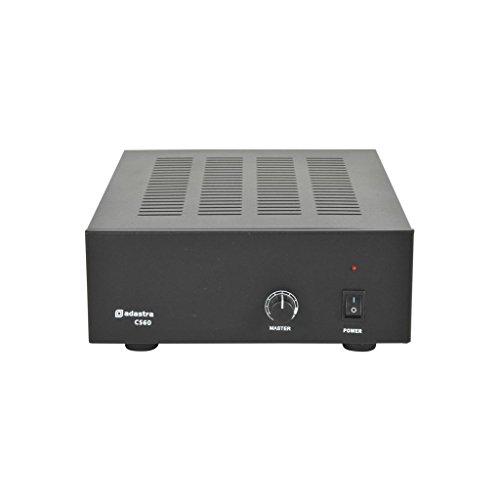 AMP12 - CS60 COMPACT 100V LINE SLAVE AMPLIFIER 2U HOUSING RCA LINE MASTER VOLUME CONTROL SMALL/MEDIUM PA INSTALLATIONS