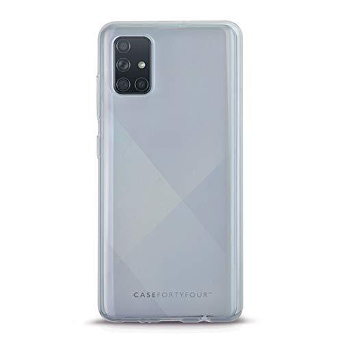 Case FortyFour No.1 para Samsung A51 - Funda delgada y ligera para teléfono - transparente