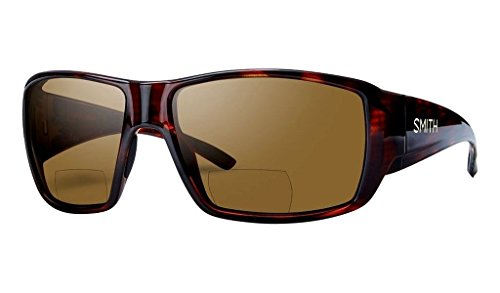 Smith Guides Choice Bifocal Polarized Sunglasses - Men's Matte Havana/Brown 2.00 Polarized, One Size