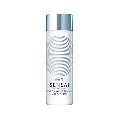 Kanebo Sensai Silky Purifying Gentle Make-Up Remover for Eye and Lip Make-up Entferner Step 1, 100 ml