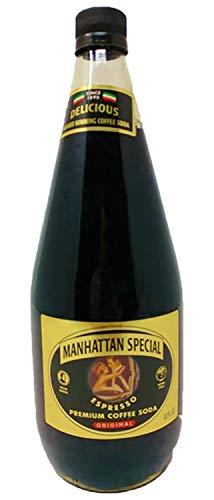 Manhattan Special - Original - Espresso Premium Coffee Soda - 32 oz (12 Glass Bottles)