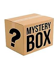 Mystery gåvor låda för vuxna, lyckliga presentartiklar för dekorationer, elektronik, leksaker, hushållsartiklar, sport utomhusprodukter, fars daggåva