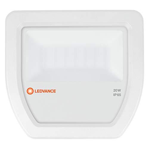 Ledvance LED Fluter | Flutlicht-Leuchte für Außenanwendungen | Warmweiß | 130,0 mm x 140,0 mm x 41,0 mm | FLOODLIGHT 20 White, 4058075097469