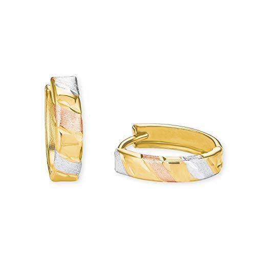 amor Creole für Damen aus Gold 585/14 ct