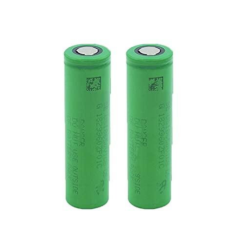 2 Pcs 18650 3.7v 2600mah Batería Recargable De Iones De Litio De Alta Capacidad Recargable, Utilizada para Linterna MicróFono De Walkie-Talkie para Gamepad De Potencia MóVil