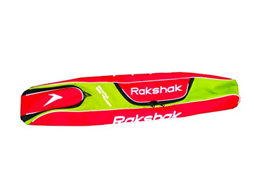 RAKSHAK Mesh Limited Edition Hockey Stick Bag, Full Size, Multicolour