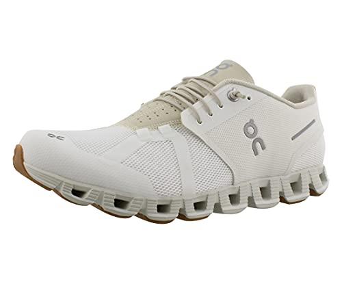 On Running M Cloud Weiß, Herren Laufschuh, Größe EU 46 - Farbe White - Sand