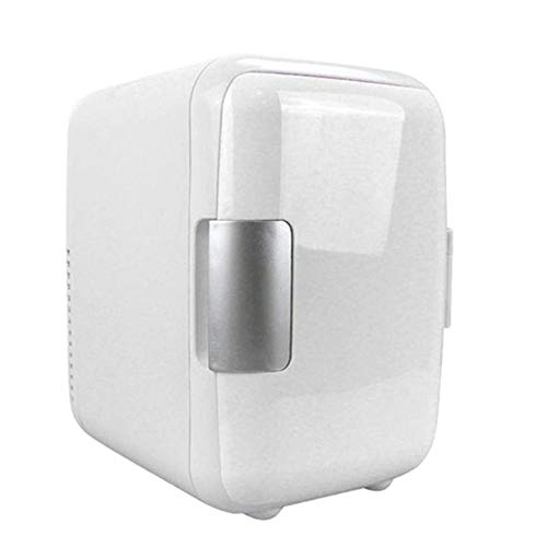 SHENGY Top 4L auto mini-koelkast, 12 V vrieskast, koeling en verwarming, geluidsarm, voor het bewaren van medicijnen, dranken, babymelk, wit