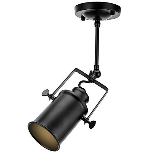 AI LI WEI mooie lampen/Americano spotlight Loft Vintage plafondlamp Retro Industrial smeedijzeren spot met 1 stopcontact voor cafe bar dining kamer restaurant