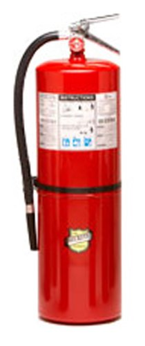Buckeye 12120 ABC Multipurpose Dry Chemical Hand Held Fire Extinguisher with Aluminum Valve and Wall Hook, 20 lbs Agent Capacity, 7-1/2