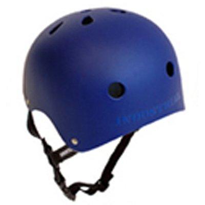 インダストリアル(INDUSTRIAL) スケートボード ヘルメット プロテクター 大人用 子供用 BLU XS