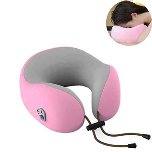 PLHMS massagekussen, nekkussen, positief en negatief, kneedmassage, geluidsreductie, zonder batterij