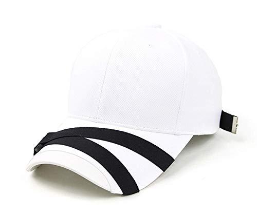 POPKORS Teamlife Max Cool Air Ventilation Mesh Back Performance Sport Outdoor Baseball Cap Hat (White)