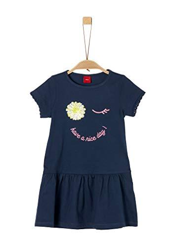 s.Oliver Junior Mädchen 403.12.006.20.200.2021209 Kinderkleid, 5798, 128 /REG