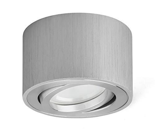 OPPER Foco de techo LED en superficie Luminaria de superficie giratorio 230V,Incluye...